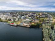 A rendering of the Terminal 1 project planned by the Port of Vancouver.