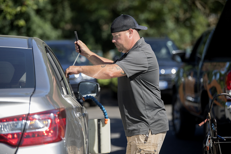 Dick Hannah Subaru >> Working in Clark County: Clint Mather, paintless dent ...