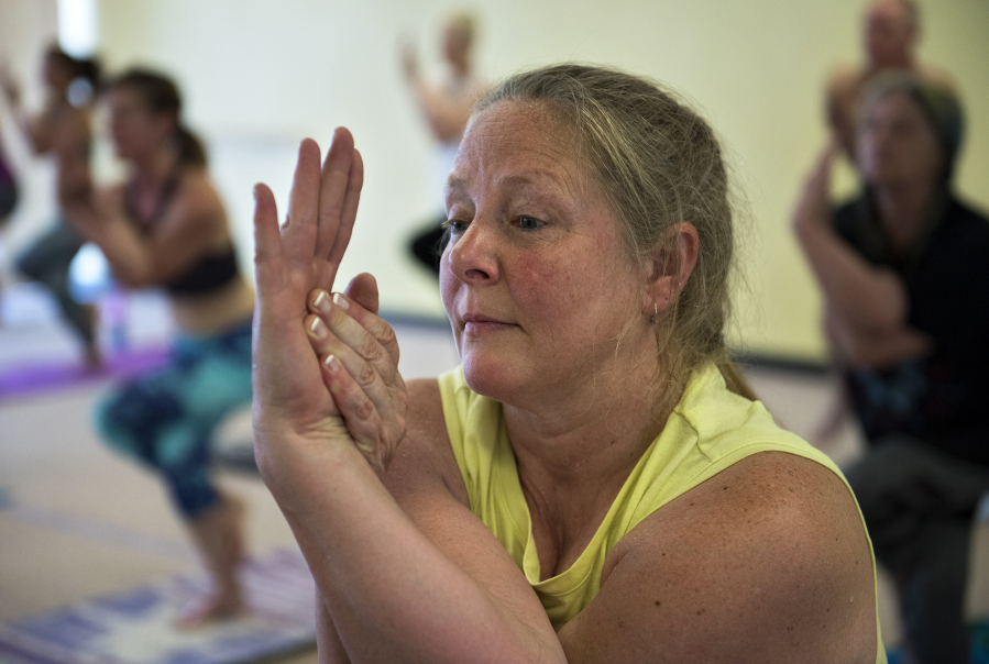 Dedication To Bikram Yoga Gives Woman Her Active Life Back  The Columbian-9940
