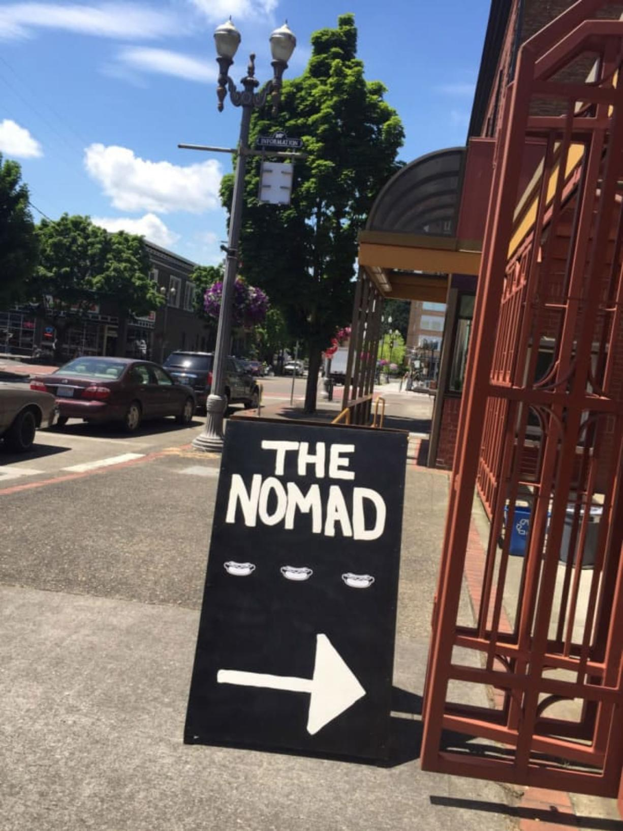The Nomad's Gourmet Hot Dogs is now located at the Columbia Food Park in downtown Vancouver.