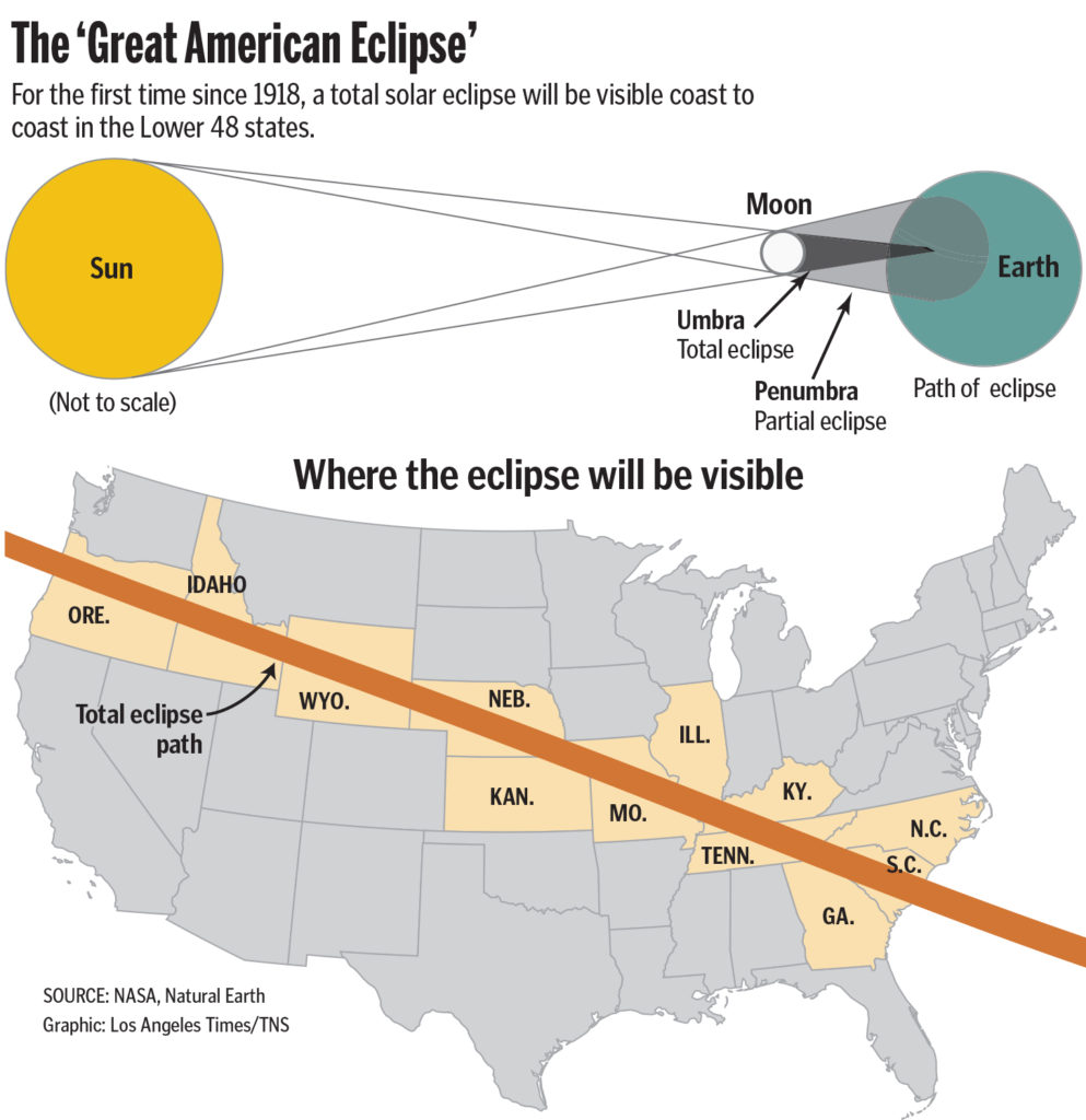 Solar Eclipse 2017 Highway Traffic Map.Eclipse Traffic Expected To Clog Highways The Columbian