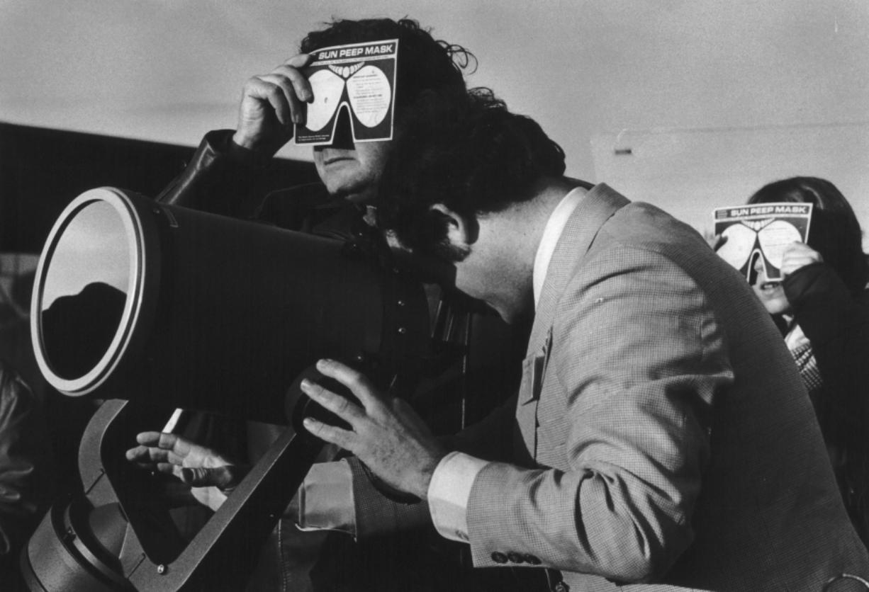 1979 eclipse: A look back at coverage, reaction - Columbian com