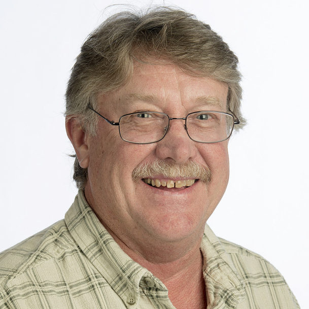 New Columbian Outdoors Reporter Terry Otto.