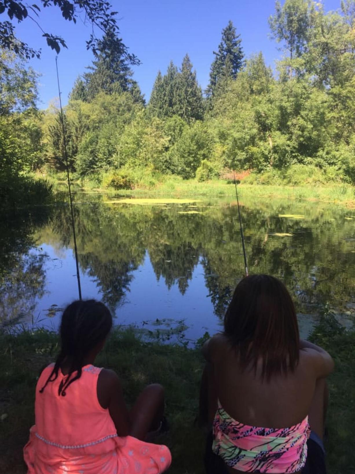 Barberton: More than 200 kids learned to fish while enjoying a variety of outdoor activities on July 22 at an event organized by U.S. Fish and Wildlife Service and I'm Hooked, Inc., a Portland-based nonprofit.