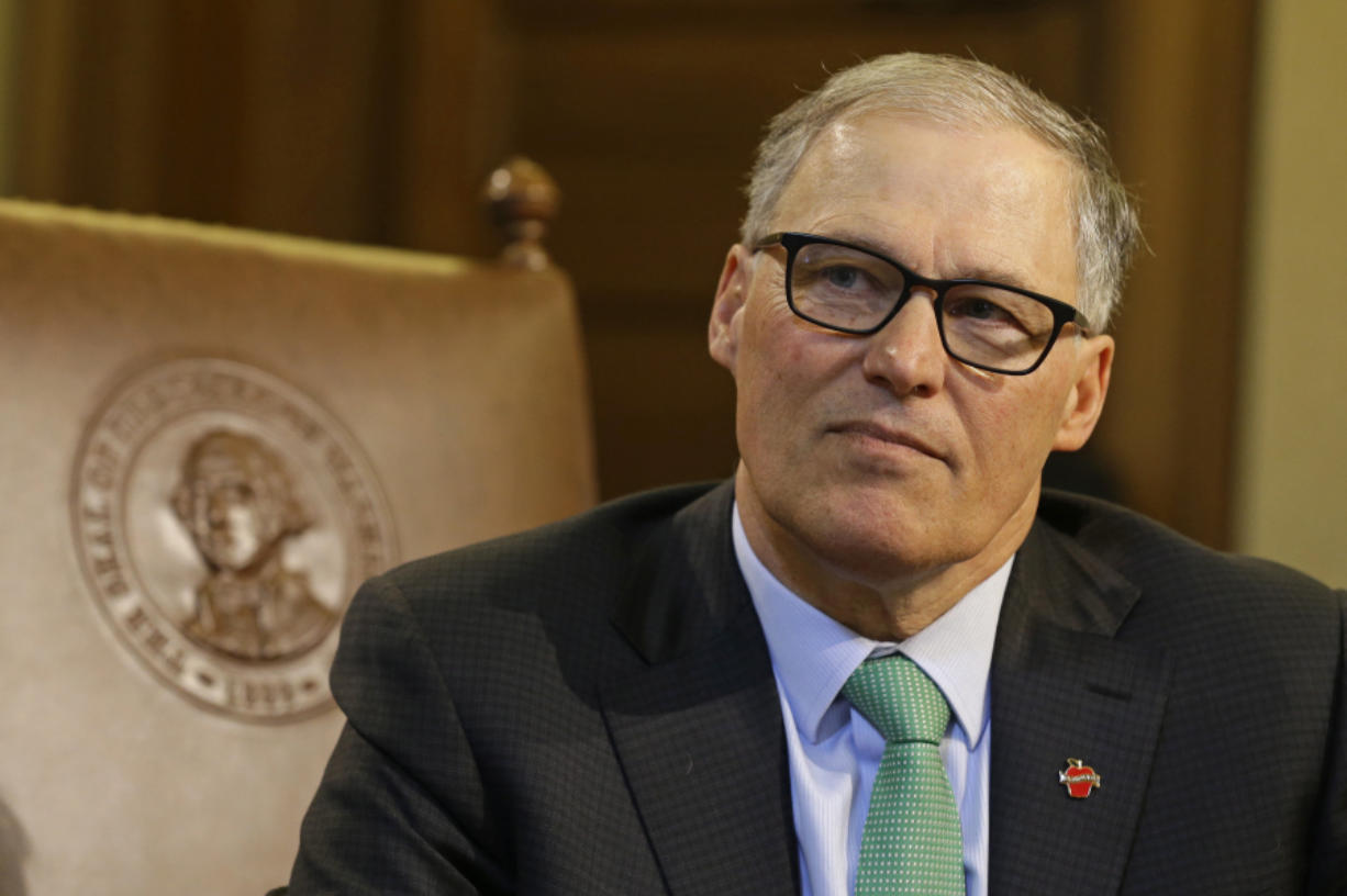 Washington state Gov. Jay Inslee says the Evergreen state will have a seat at the table when Oregon begins discussing tolls.