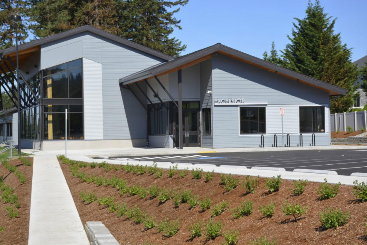 Washougal: The new Excelsior building in the Washougal School District, which opened this month with two reworked alternative high school options for students.