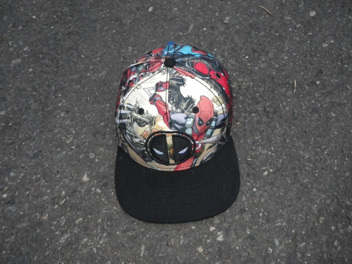 A baseball-style cap recovered from the scene of the Daybreak Youth Services fire on May 29, 2016.