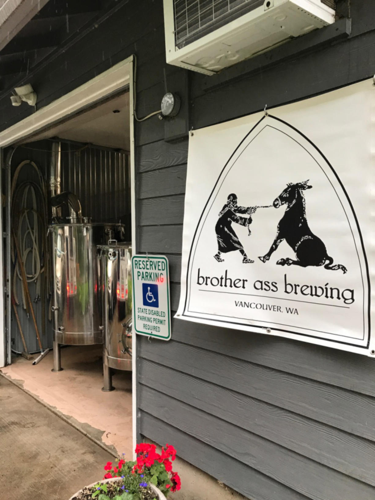 Brewer Wally Wakeman knows the name of his brewery, Brother Ass Brewing, raises a lot of eyebrows, but the name is a nod to St.