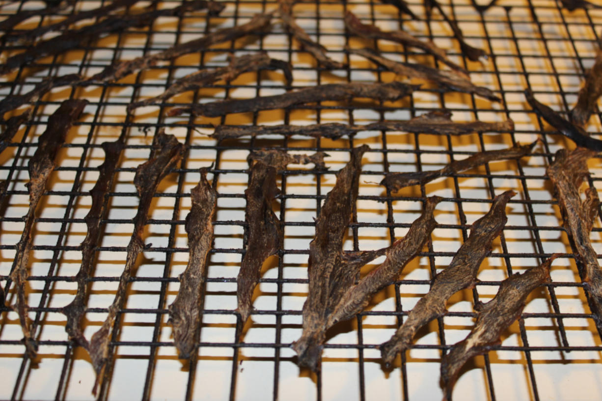 It's possible to have tasty, long-lasting jerkey using only natural ingredients instead of artificial preservatives. Terry Otto/The Columbian