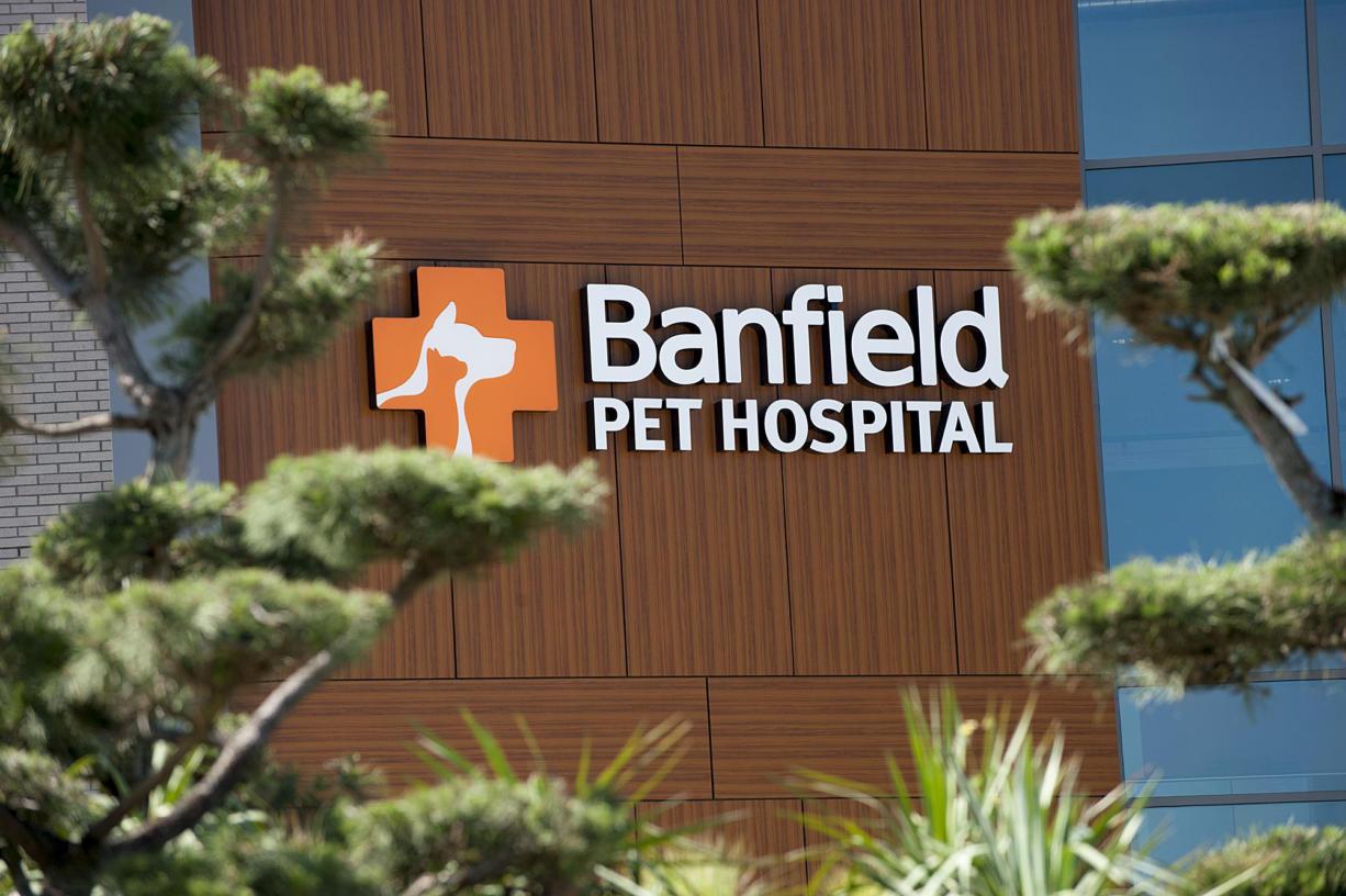 The Banfield Pet Hospital.