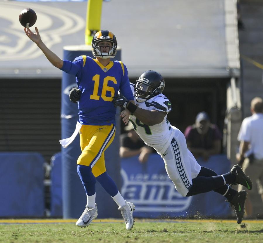 Los Angeles Rams quarterback Jared Goff 2d9377a2d