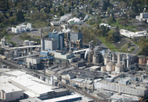 Parts of Camas paper mill to shut down