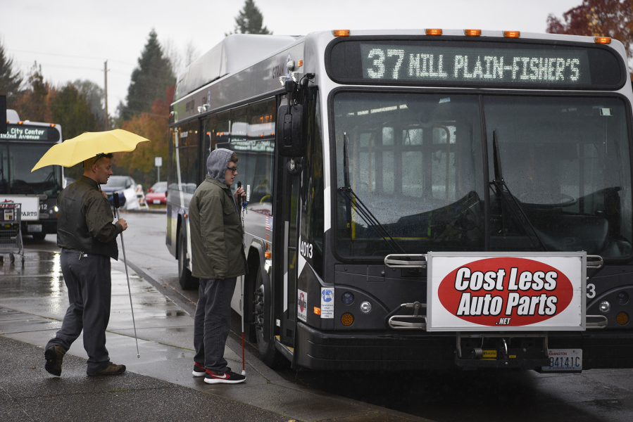 C Tran Removing Paid Ads On Buses To Emphasize Its Brand The Columbian
