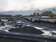 Terminal 5 at the Port of Vancouver. Port of Vancouver staff say the loop, at full capacity, could increase the amount of rail cars coming through the terminal from 60,000 a year to 400,000.