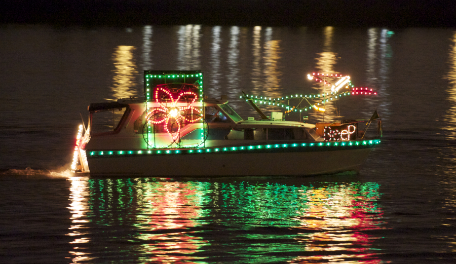 bows and ribbons float down the river in 2012