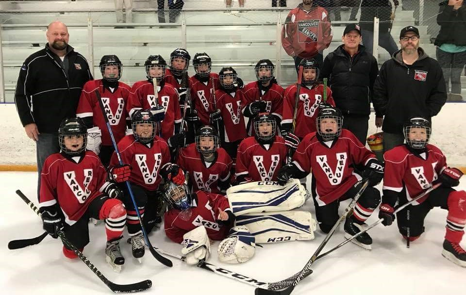 Vancouver Rangers 10u Junior Hockey Team Wins Tournament The Columbian