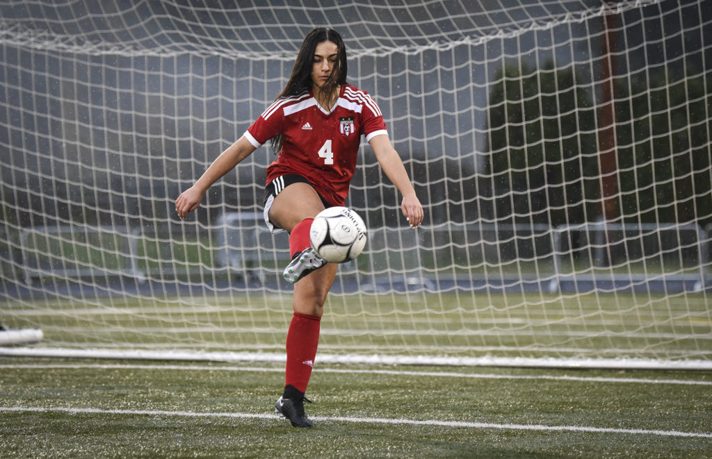 All-Region Girls Soccer Maddie Kemp, Camas  The Columbian-9568