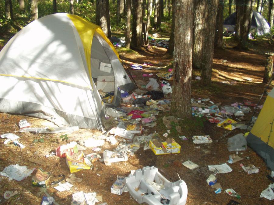 Garbage Bags Primitive Camping