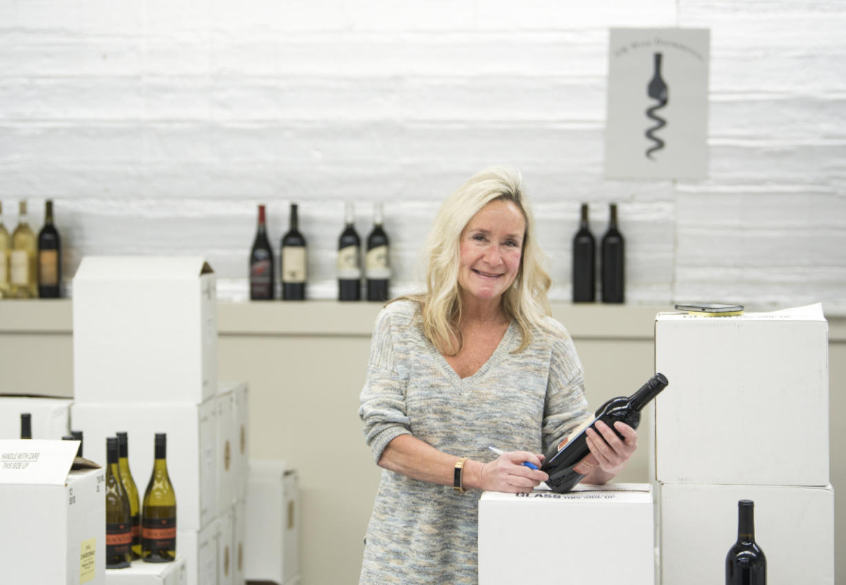 Jenny Brown, majority owner of NW Wine Distributors, has been in the wine business since she started helping at her aunt's winery as a child.