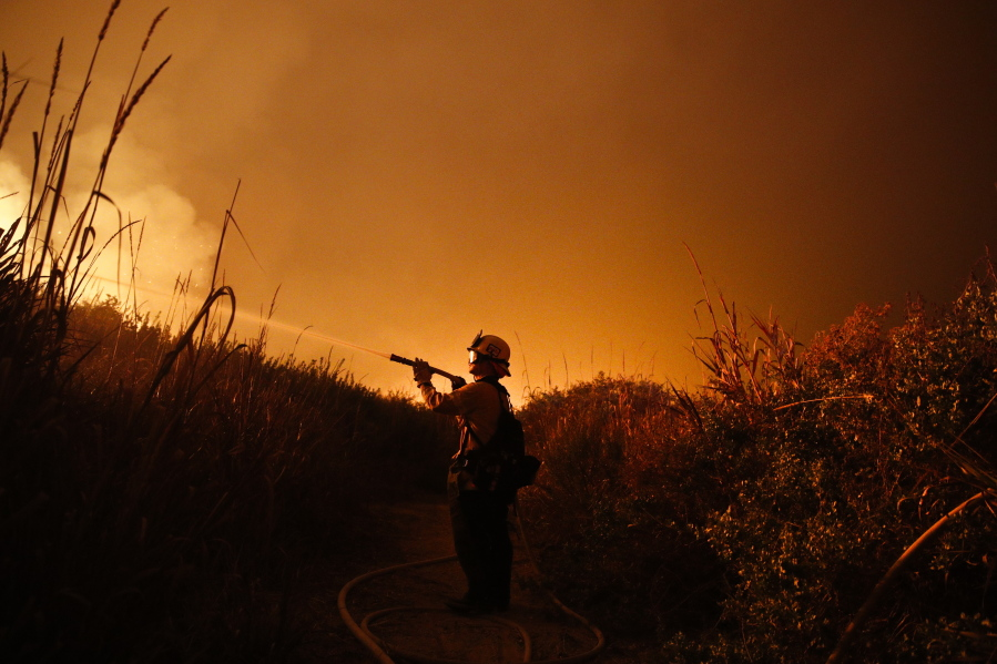 Another Southern California Wildfire Explodes The Columbian