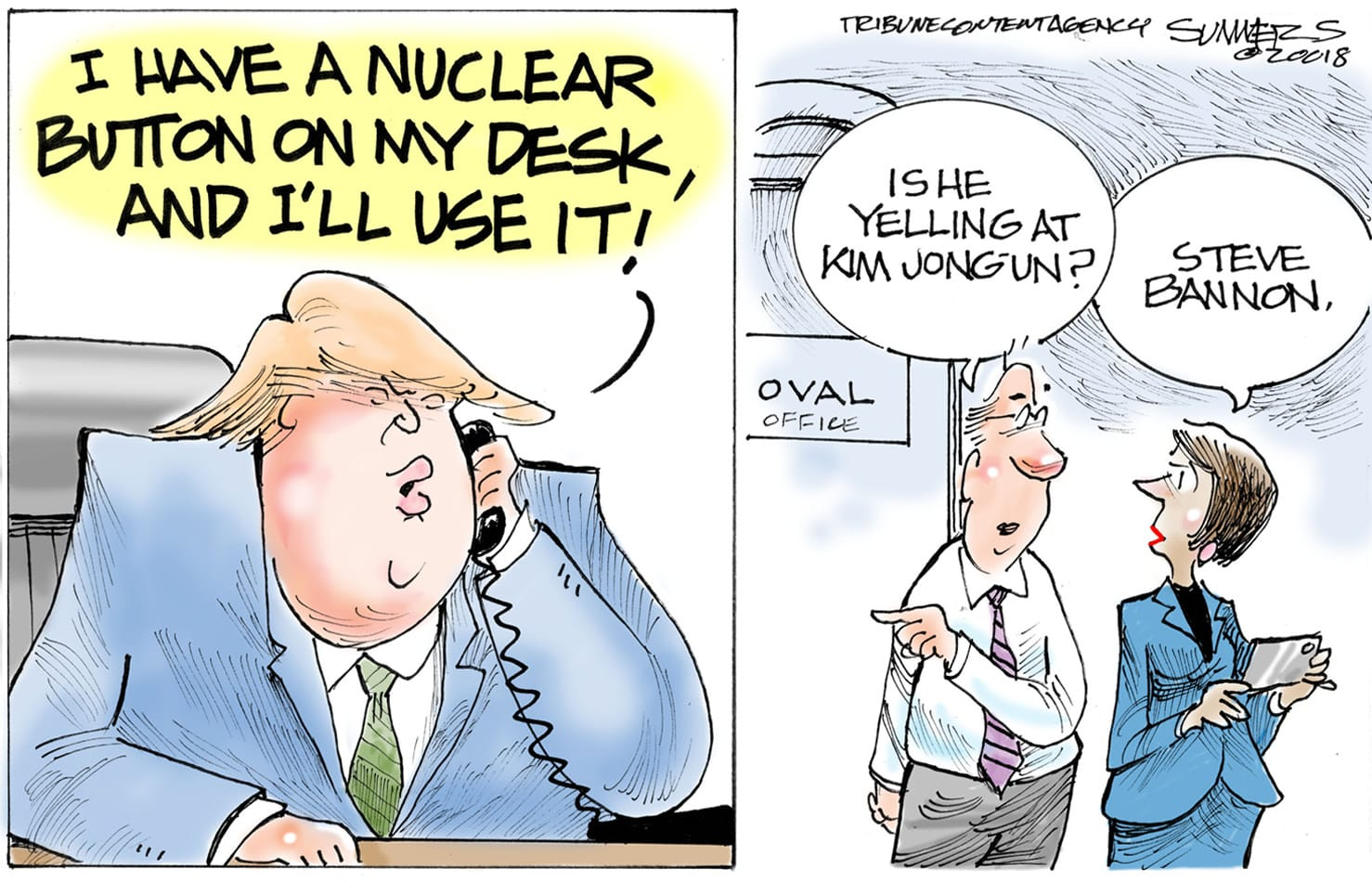Jan. 6: Trump and Bannon