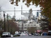 Georgia-Pacific announced in November 2017 that it plans to shut down several operations at its Camas mill.