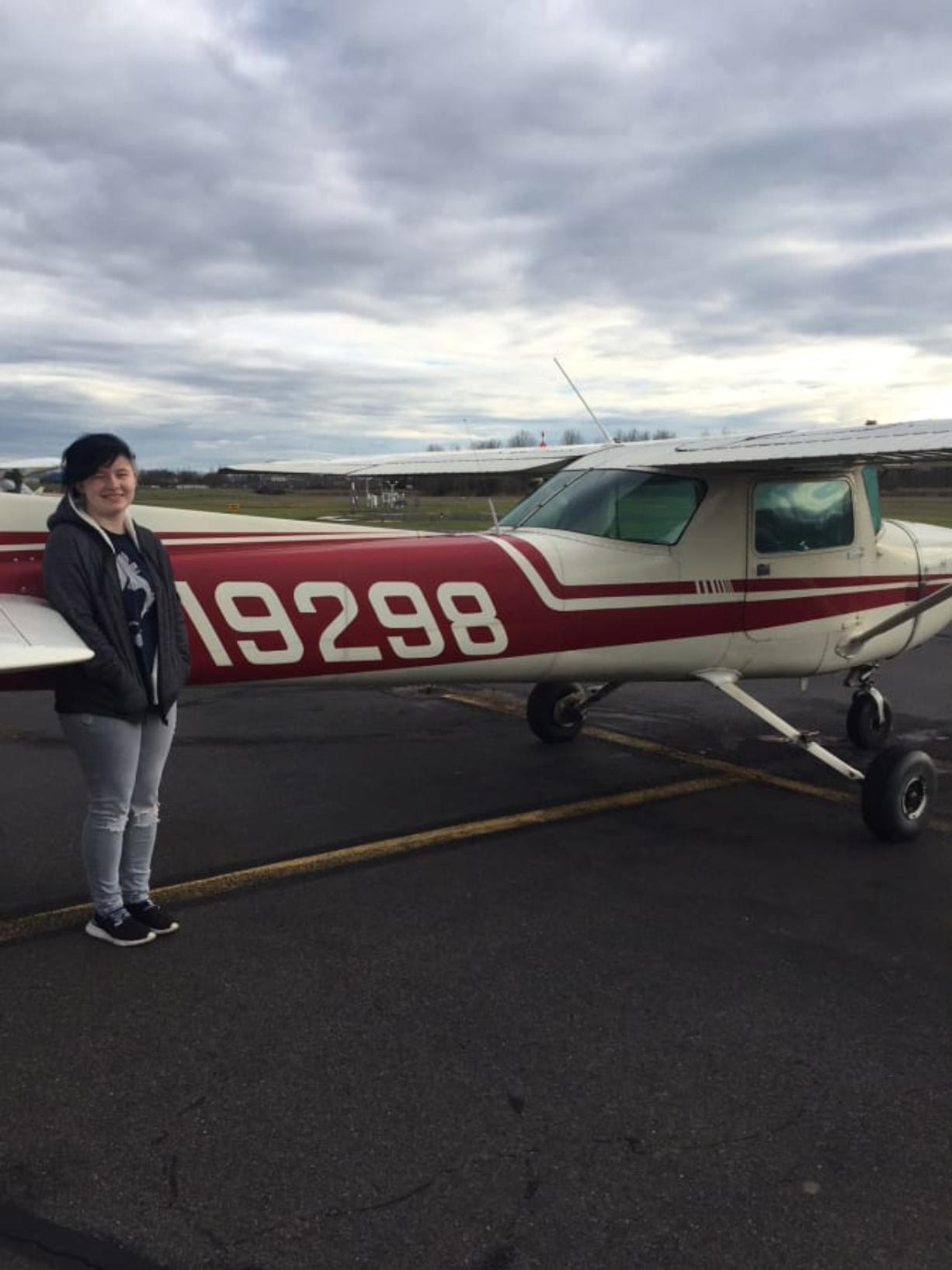 Pleasant Valley: Rachel Friesen earned her private pilot's license after passing her exams on Dec. 30 at age 17, the youngest someone can obtain their license through the Federal Aviation Administration.