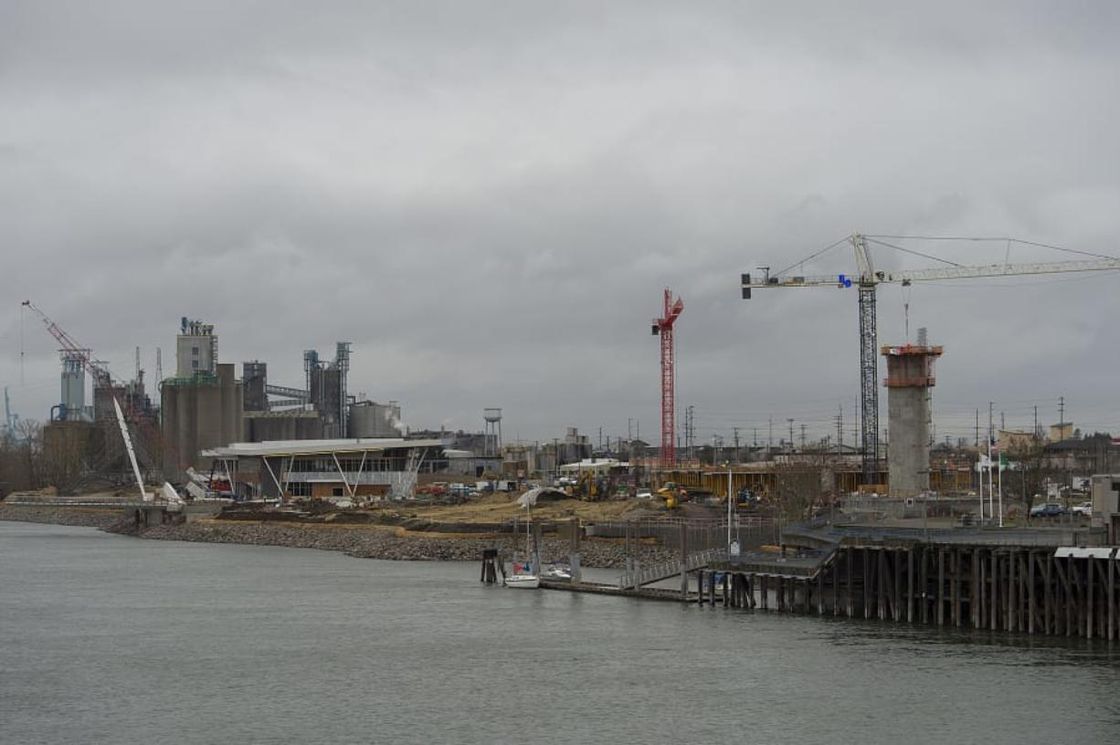 The economy in Clark County continues to grow with new residents, more jobs and expanding commercial development. The Waterfront Vancouver, the biggest project in Clark County, expects to open its first phase this summer.
