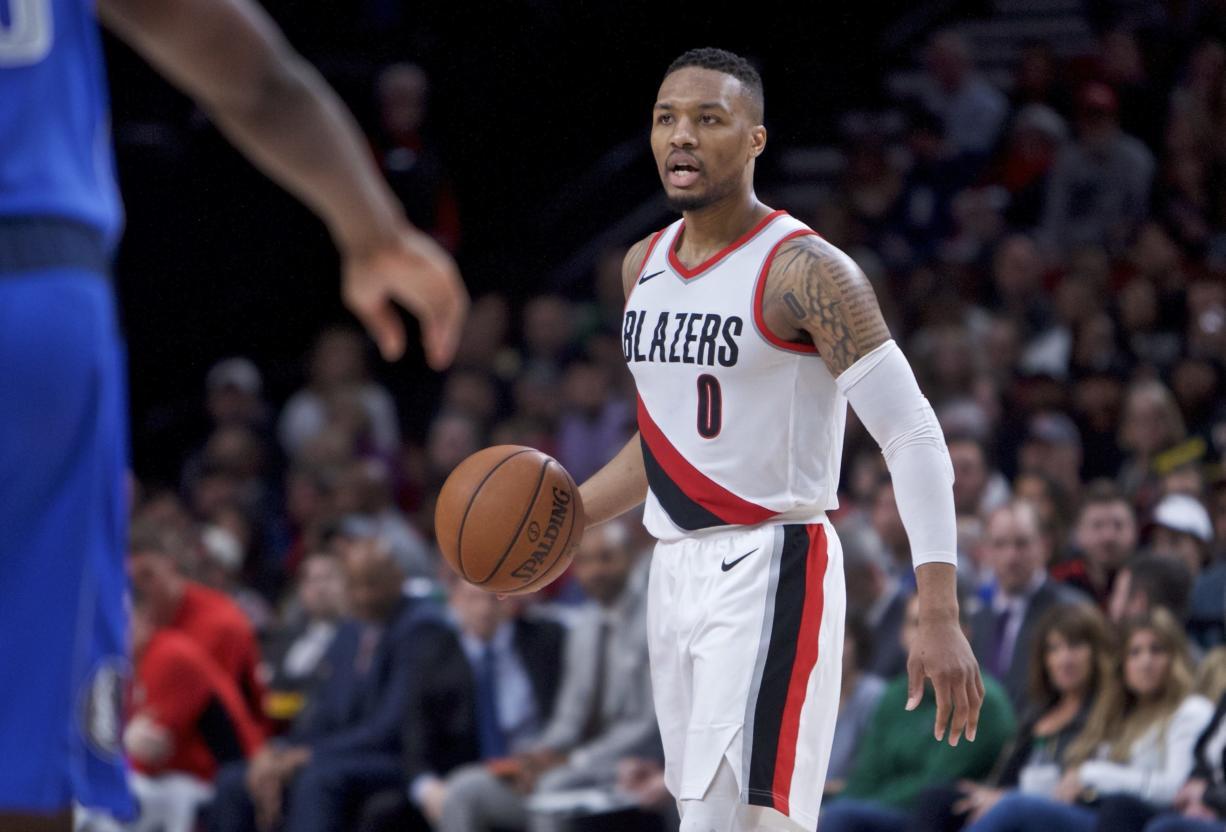 the latest ecd14 fff13 Blazers' Lillard named to NBA All-Star Game - Columbian.com