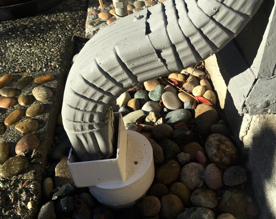 Rain Gutter Can Create Home Drainage Woes The Columbian