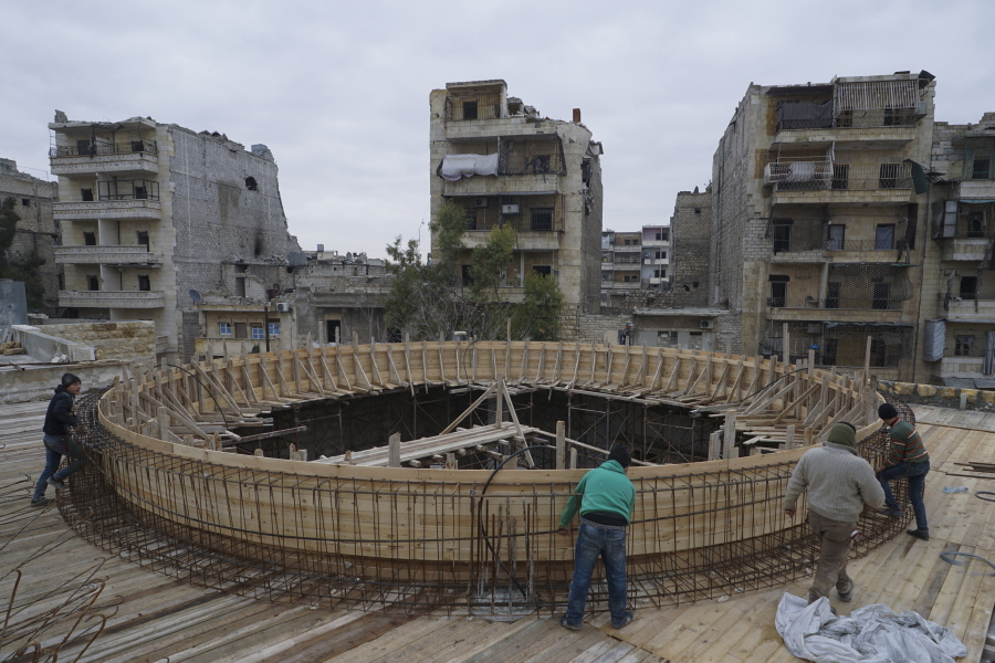 Life Slowly Returns To Aleppo Shattered By Syrian Civil War The