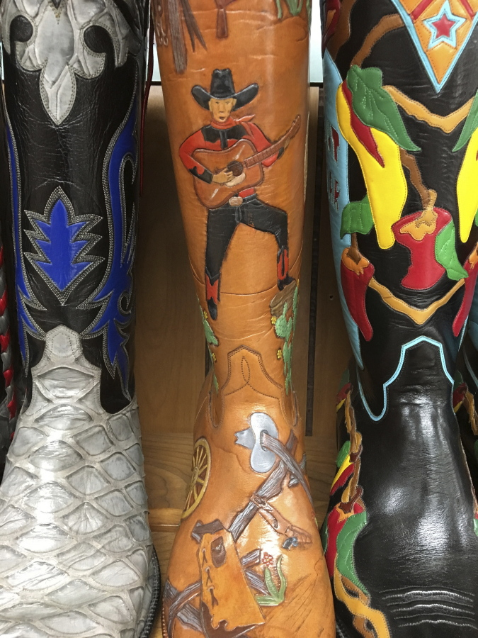 Cowboy boots are as much a part of San Antonio as the Alamo | The ...