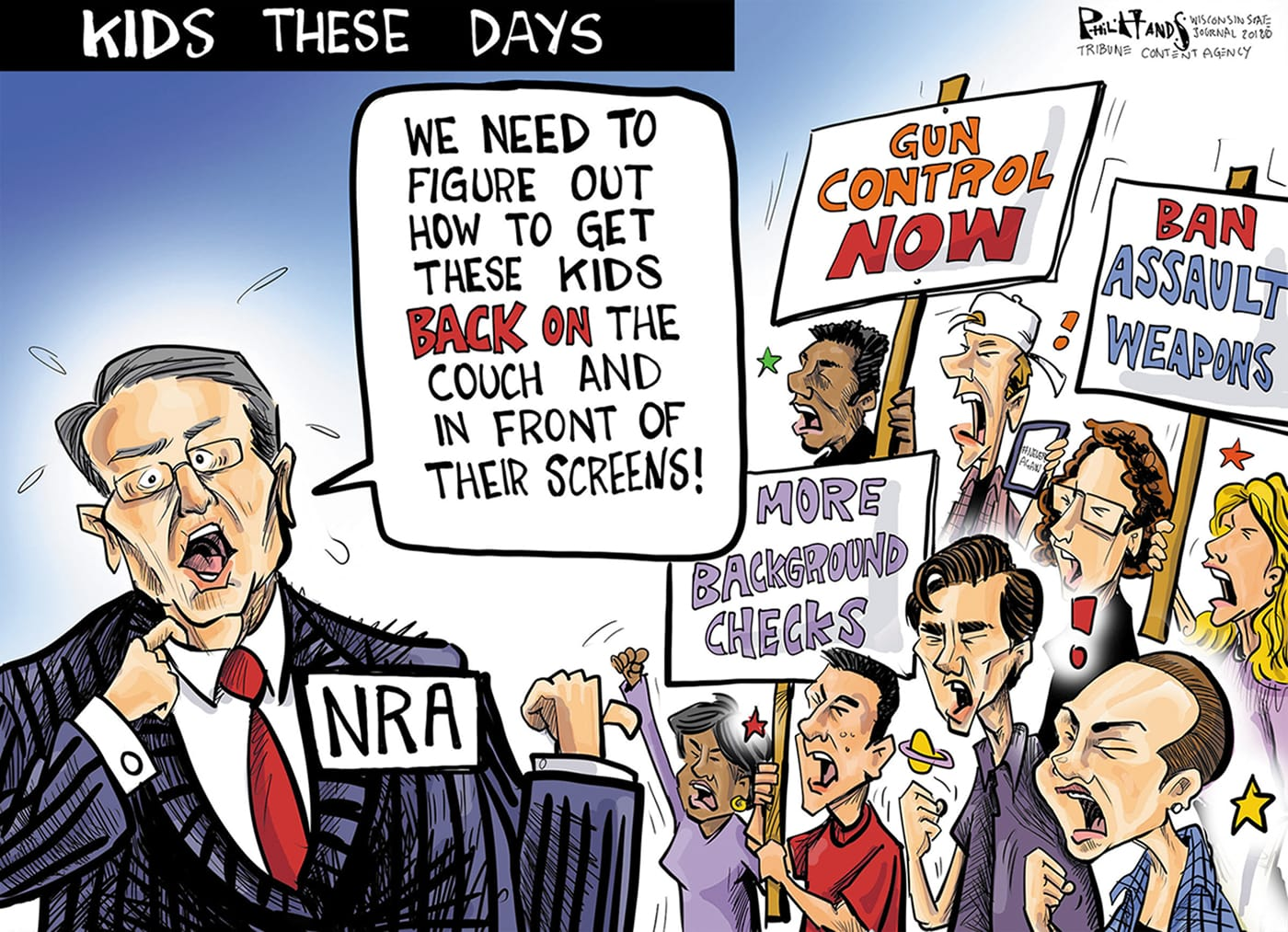 Feb. 24: NRA and Teens