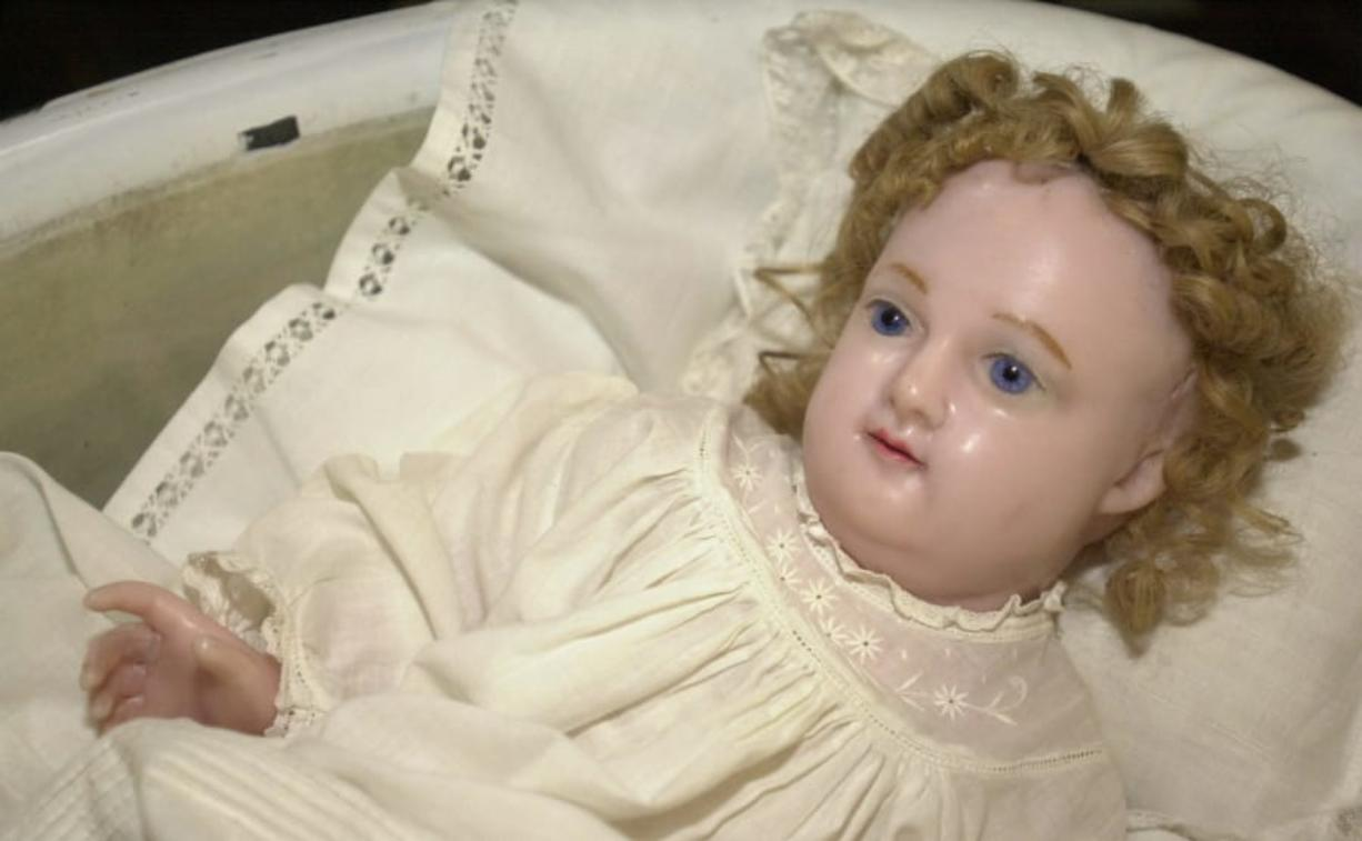A wax doll of baby Jesus made by Mother Joseph will be part of the First Thursday program at the Clark County Historical Museum. The Columbian files