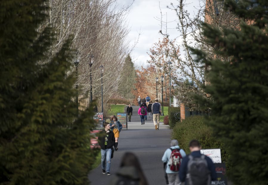 Wsu Vancouver Begins Updating Master Plan The Columbian