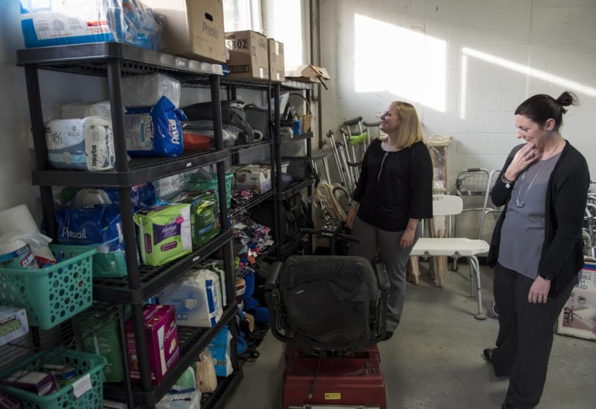 Caring Closet provides medical equipment for those who need
