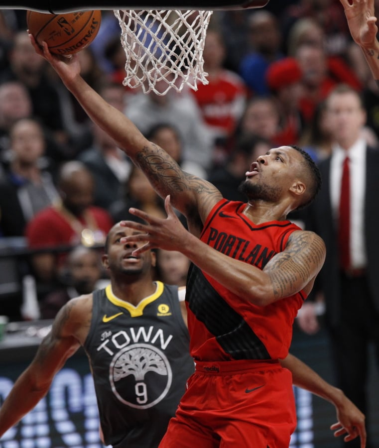 Portland Trail Blazers Basketball: Lillard Scores 44 As Blazers Top Warriors