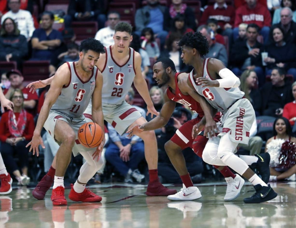 Stanford Holds Off Washington State 86 84 Columbian Com