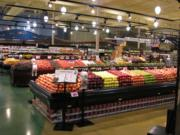 The produce section pictured at an up-and-running Rosauers in Bozeman, Mont. A new store is expected to open in Ridgefield next spring.