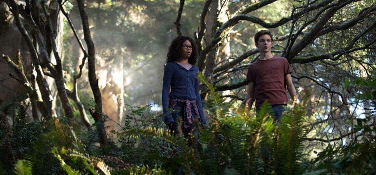 """Storm Reid and Levi Miller star in """"A Wrinkle in Time."""" Disney"""