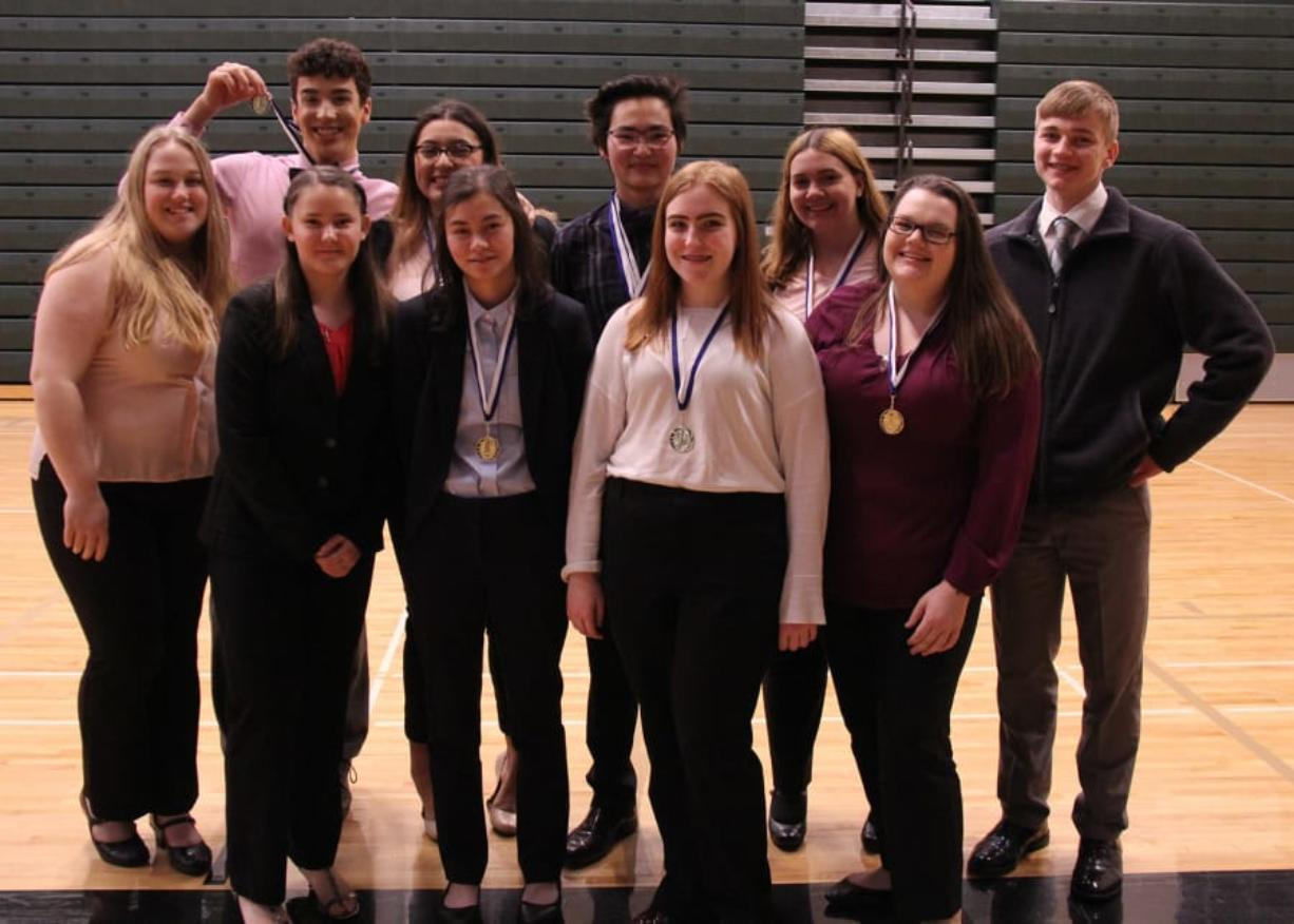 Washougal To Send 10 To State Business Competition Columbian Com