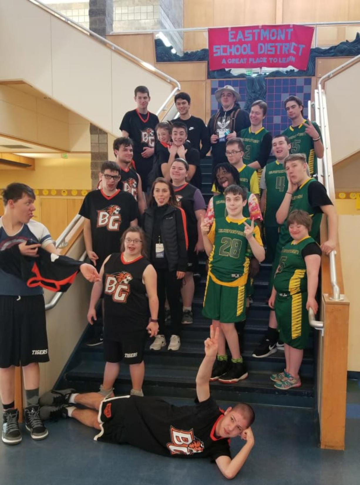 Clark County: Basketball teams from Evergreen High School and Battle Ground High School were in Wenatchee earlier this month to compete in the Unified Special Olympics Winter Games.