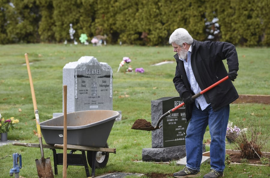 life and death at fern prairie cemetery the columbian