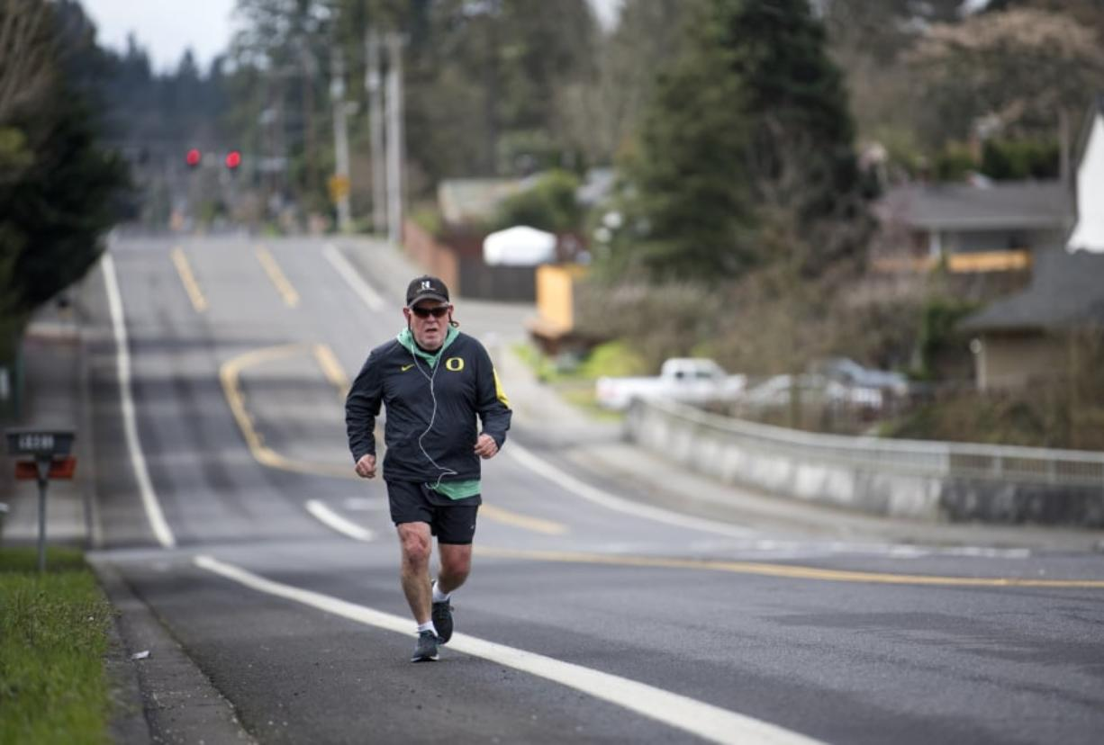Roy Hahn of Vancouver ran the Boston Marathon in 1988. He never intended to run the race again, but he was inspired to begin training again after the bombings at the marathon five years ago. In two weeks, the 72-year-old will toe the line for the 122nd annual Boston Marathon.