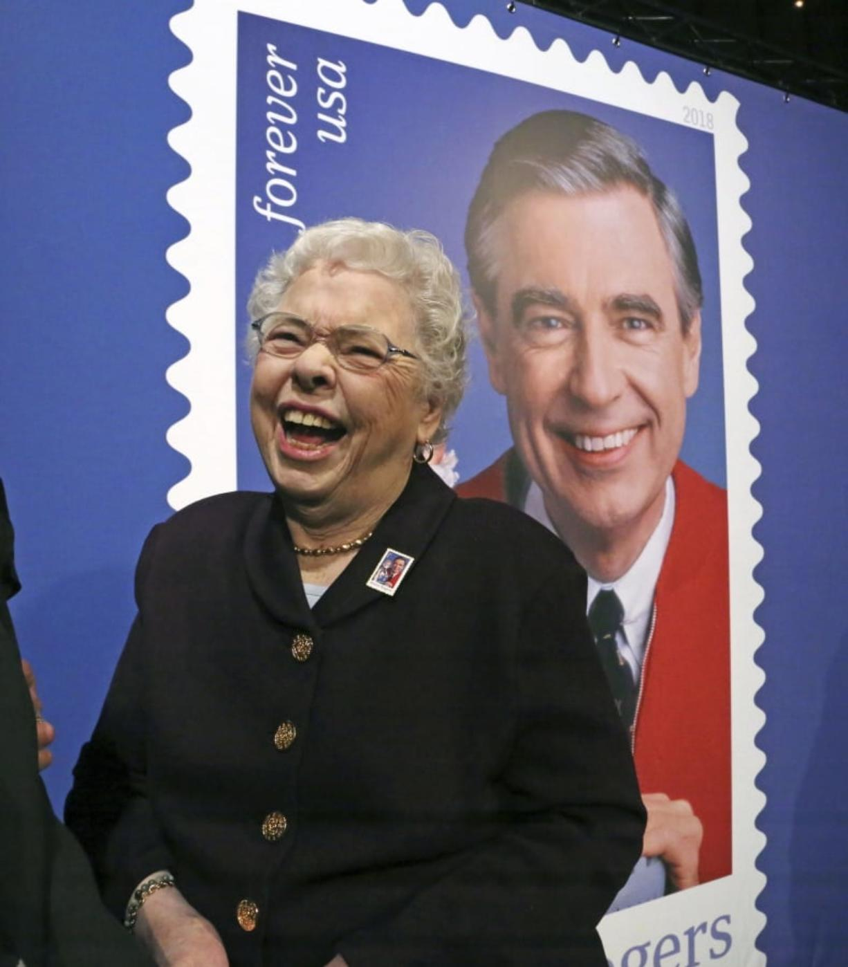 Mr Rogers Gets A Stamp Of Approval Columbian Com