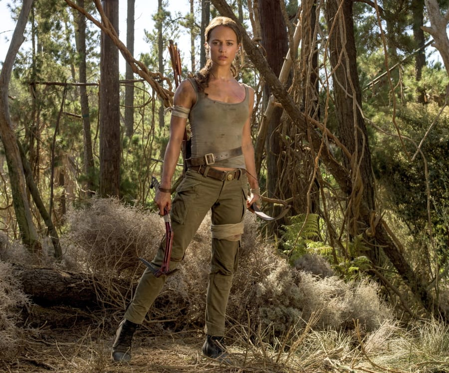 """526345814 This image released by Warner Bros. Pictures shows Alicia Vikander in a  scene from """""""