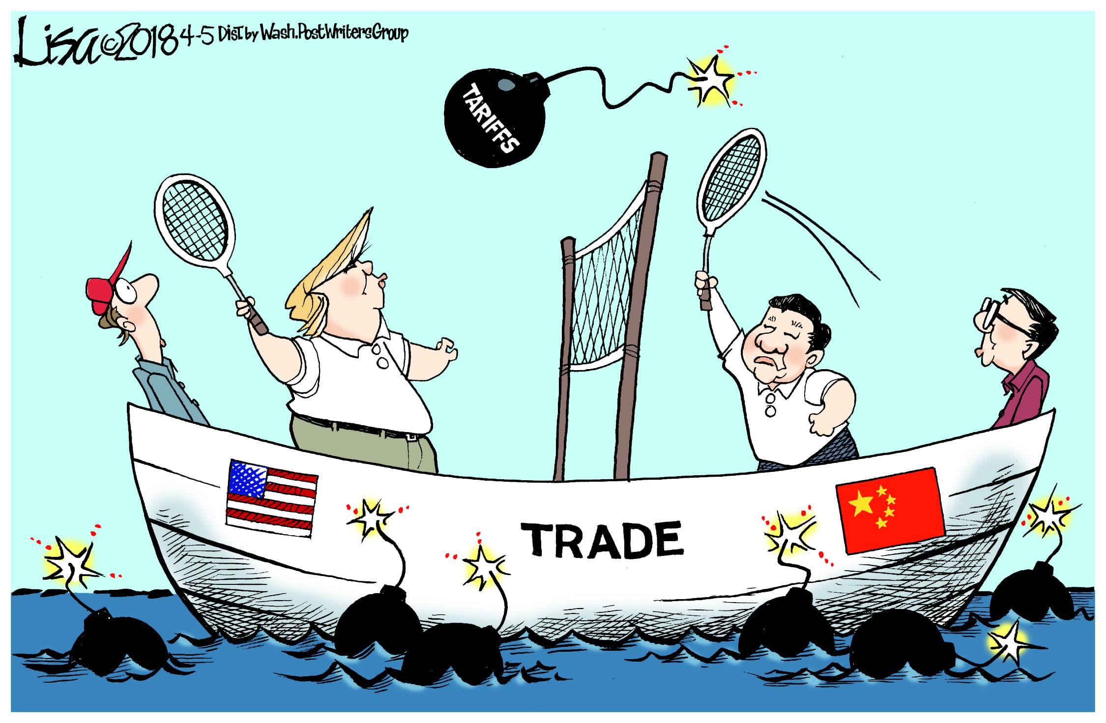 April 7: Trade