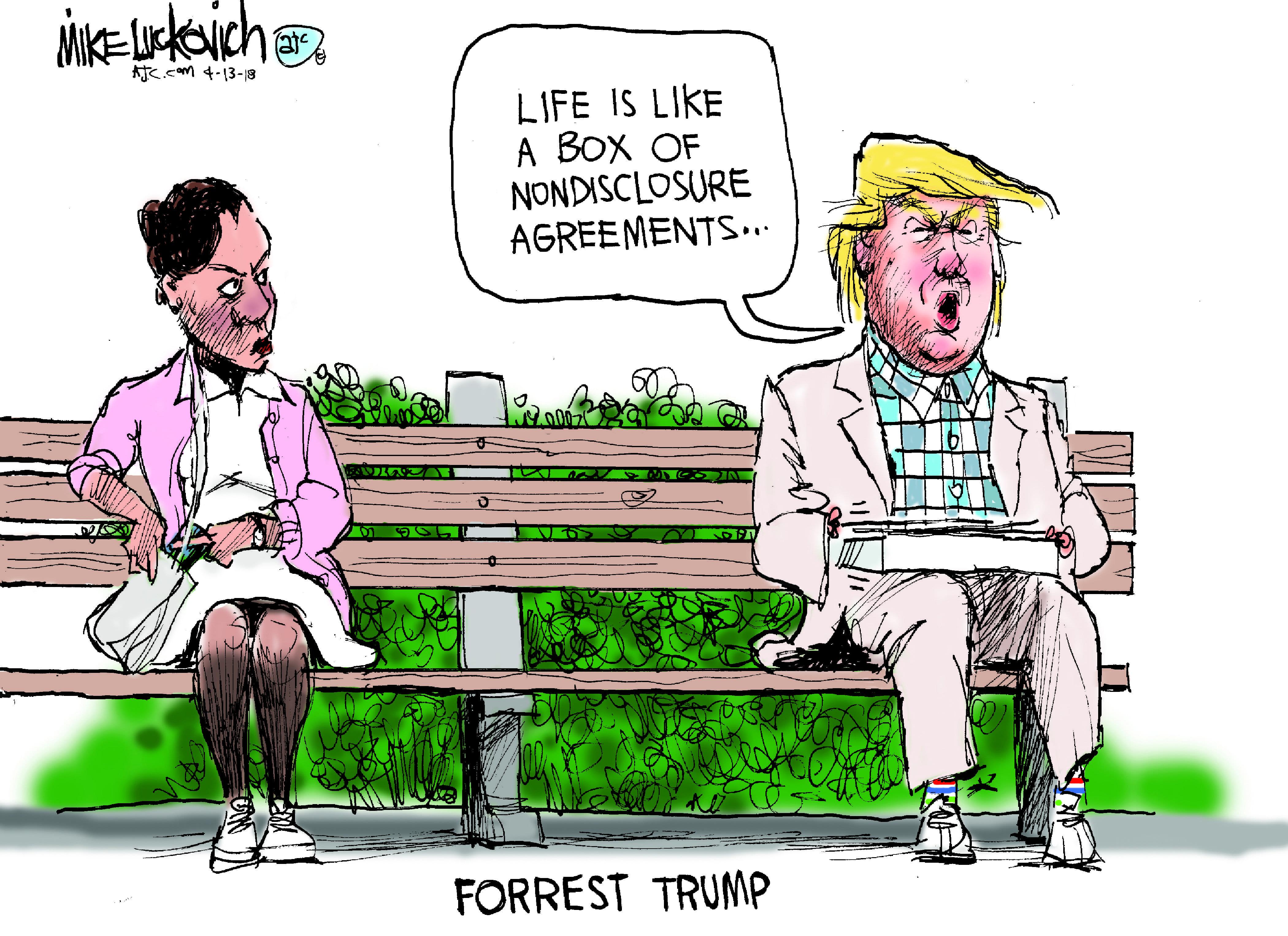 April 14: Forrest Trump