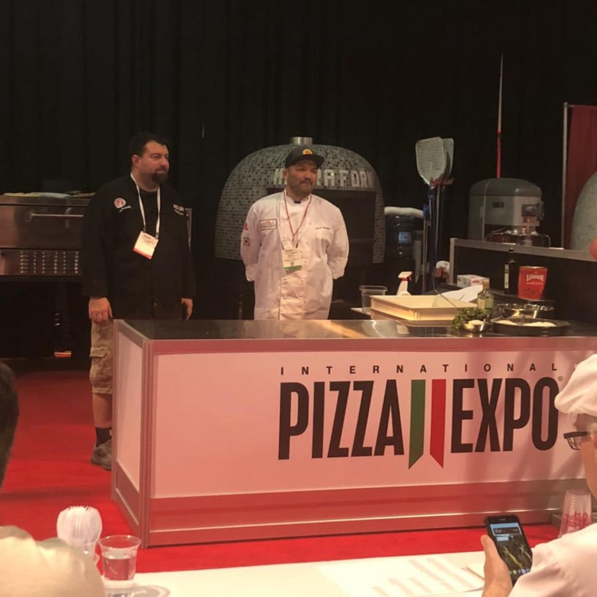Pizzeria La Sorrentina took sixth place at the Pizza Expo in Las Vegas.