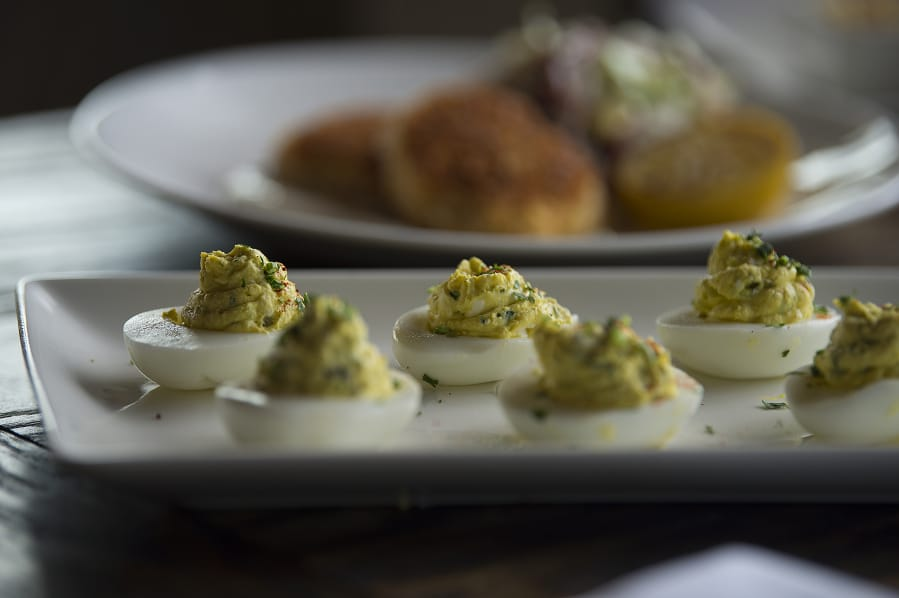 Amanda Cowan/The Columbian Appetizers at The Hammond Kitchen & Cafe Bar in Camas include